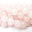 ROSE QUARTZ BEADS - ROUND 10MM